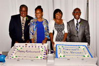 Farewell Dinner for Dr Jeffrey & Mrs Patttiejean Brown and Dr Sheila Holder 31Aug14